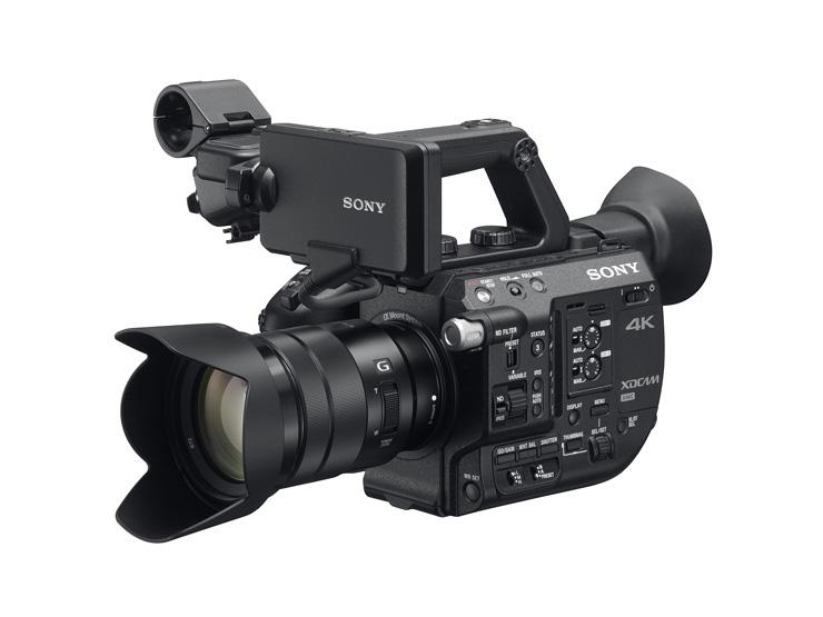ソニー XDCAMメモリーカムコーダー PXW-FS5用機器アップデートファームウェアのお知らせ