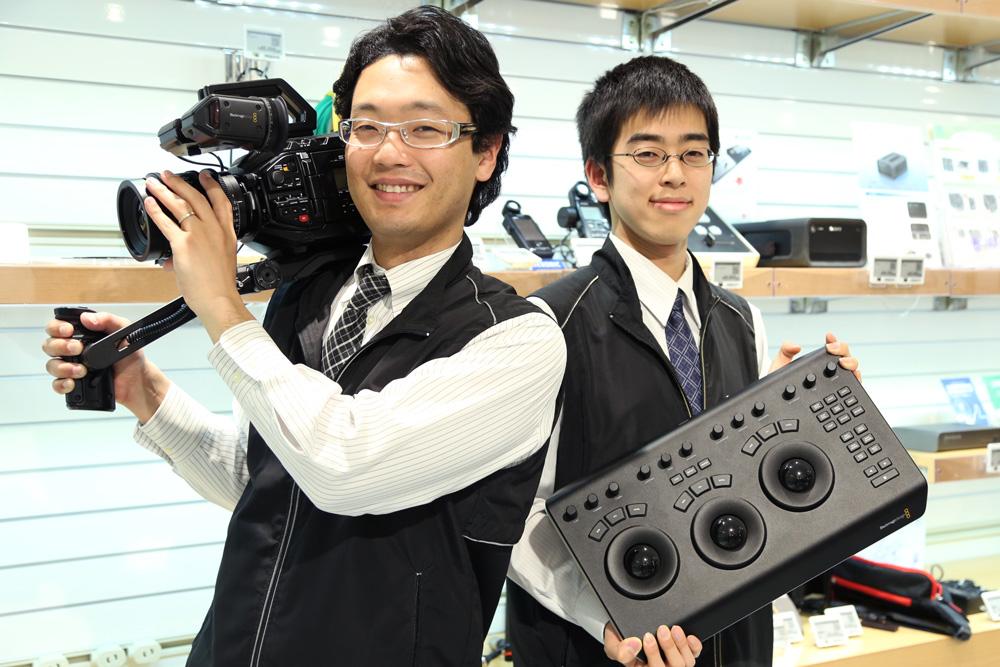 BMD新製品!DaVinci Resolve コンパネ&シネマカメラ URSA Mini Pro 4.6K