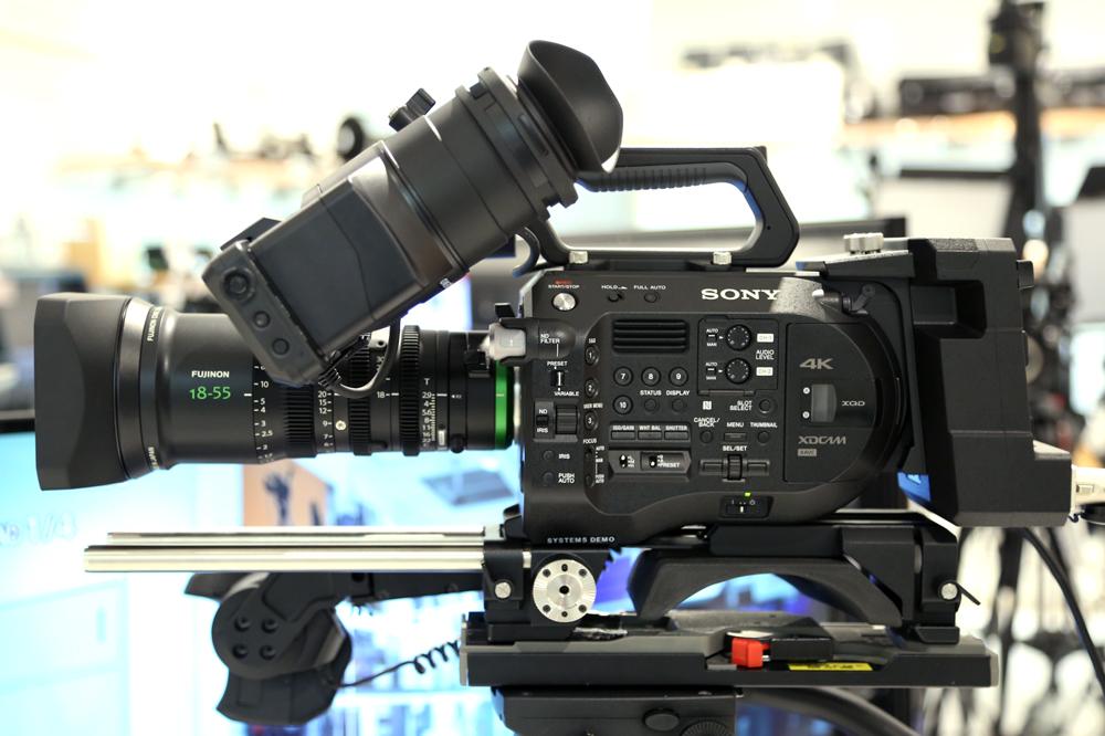 フジノン 新シネマズーム「MK18-55mm T2.9」をPROGEAR半蔵門ショールームにて実機展示中!