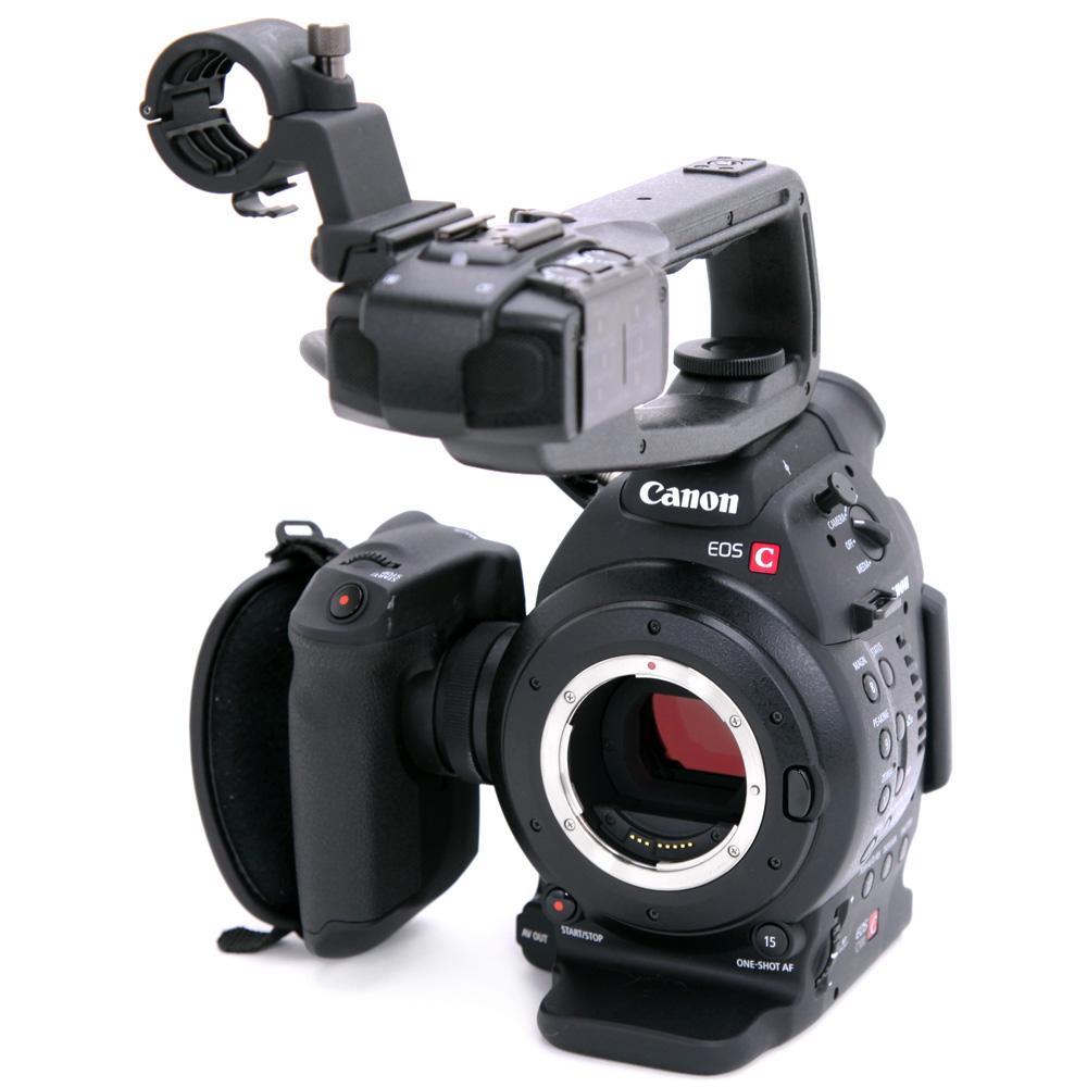 キヤノン デジタルシネマカメラ EOS C100(デュアルピクセル CMOS AF 対応機)ファームウエアアップデートのお知らせ
