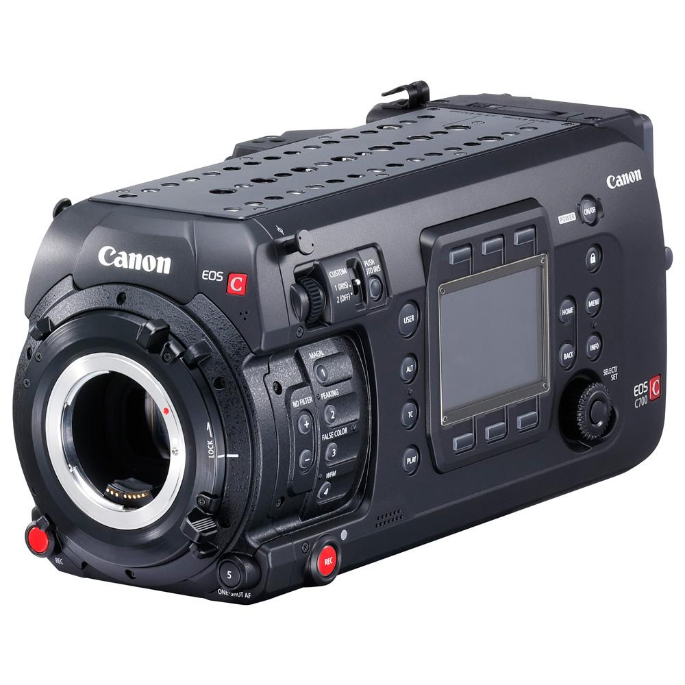 キヤノン デジタルシネマカメラ EOS C700/ EOS C700 GS PLファームウエアアップデートのお知らせ