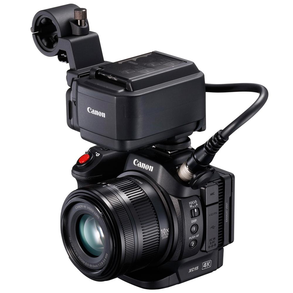 キヤノン 業務用デジタルビデオカメラ XC15用ファームウェアVer.1.0.1.0アップデートのお知らせ