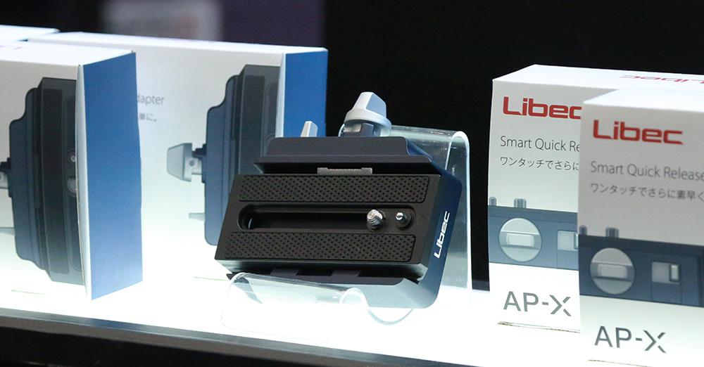 【Libec】三脚とカメラのつけ外しがワンタッチ!新製品・AP-Xのご注文受付中!