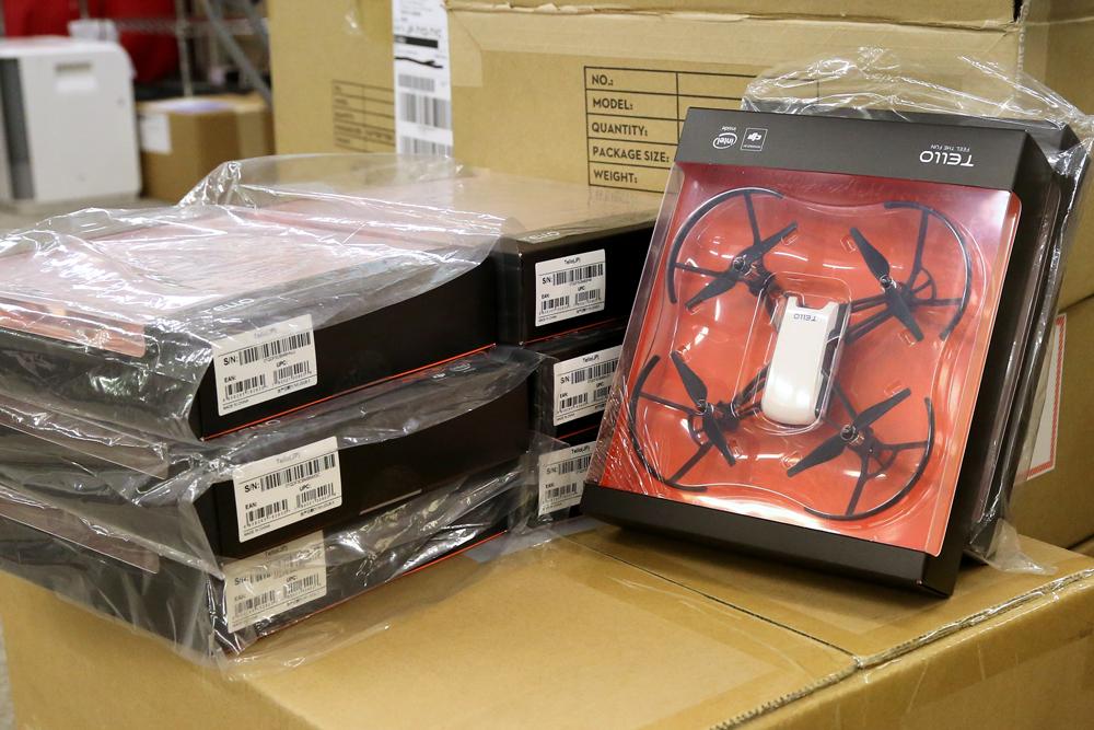 手のひらサイズドローン「Tello」発売開始!次回入荷は4月予定です。
