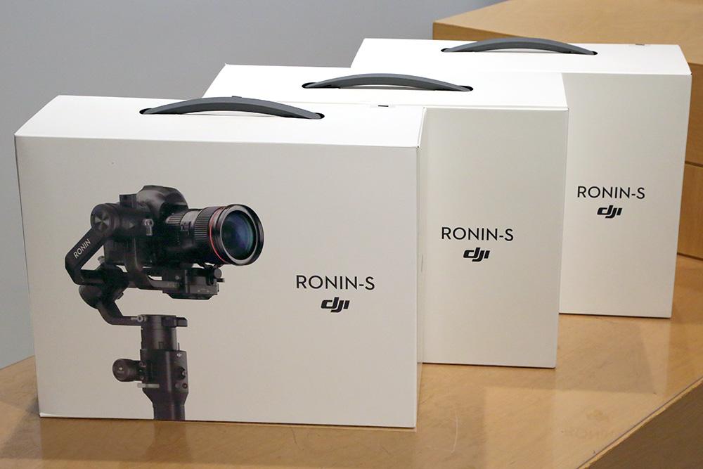 【緊急告知】10月下旬、DJI Ronin-Sが大量入荷予定です!