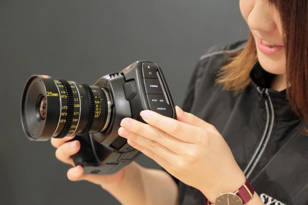 Blackmagic Pocket Cinema Camera 4K 店頭展示を開始しました!