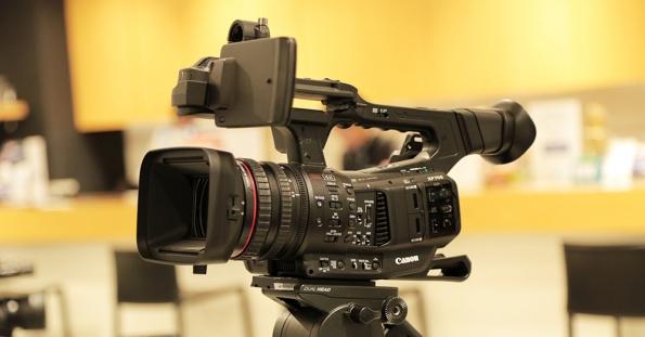キヤノン 4K業務用ビデオカメラ XF705 ショールーム展示中!