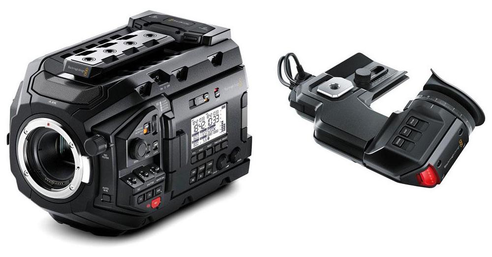 【5セット限定】Blackmagic URSA Mini Pro 4.6Kと専用ビューファインダーがセットで大特価!
