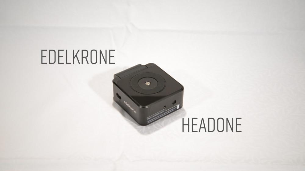 【動画あり】パンチルト制御雲台 edelkrone HeadONE