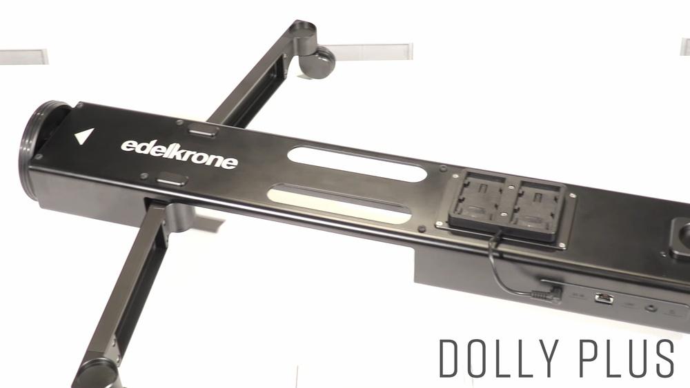 【動画あり】三脚がそのまま載る自動ドリー!edelkrone DollyPlus