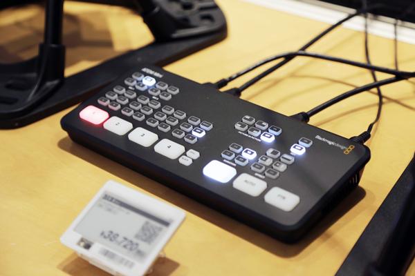 ライブ配信機材展示の例4