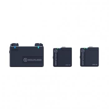 Hollyland Lark 150 Duo black ワイヤレスマイクロフォンシステム(送信機2台セット)black