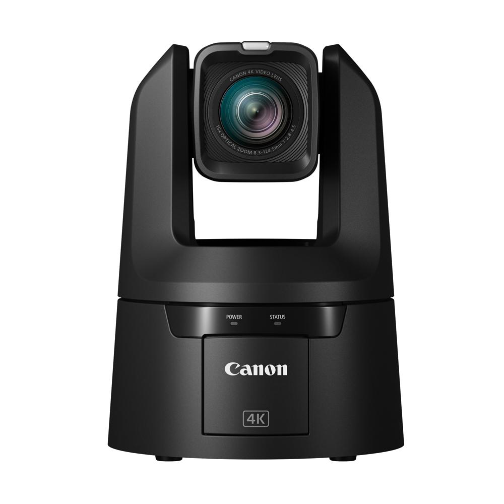 Canon CR-N500 BK 4K PTZリモートカメラ ブラック