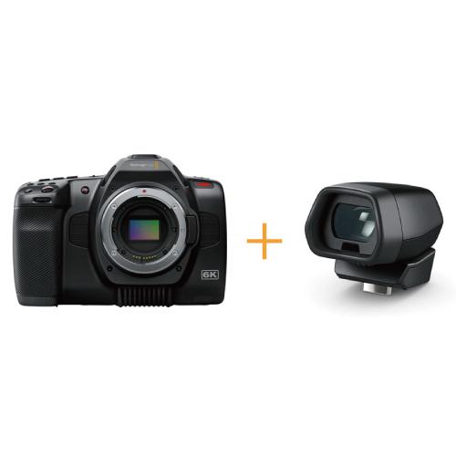 Blackmagic Pocket Cinema Camera 6K Pro+Pocket Cinema Camera Pro EVF