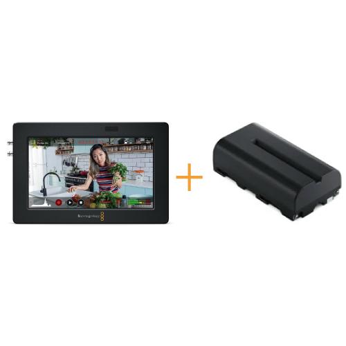 Video Assist 5インチ 3G + NP-F570互換バッテリー