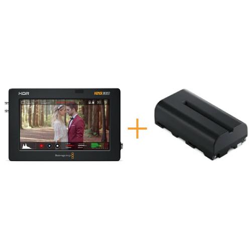 Video Assist 5インチ 12G HDR + NP-F570互換バッテリー