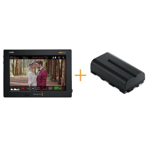 Video Assist 7インチ 12G HDR + NP-F570互換バッテリー