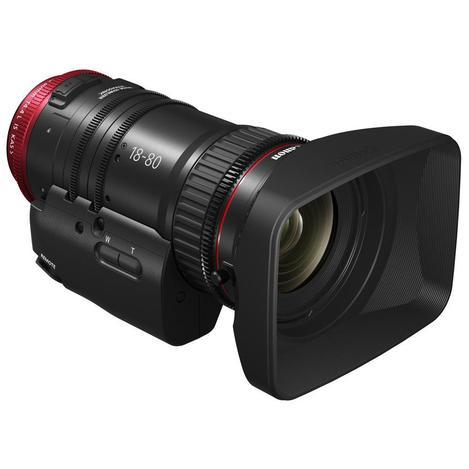 Canon CN-E18-80mm T4.4 L IS KAS S COMPACT SERVOレンズ