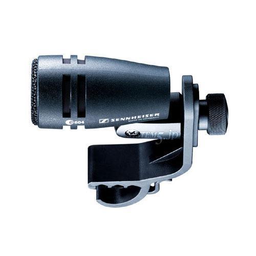 SENNHEISER E604 ダイナミック型単一指向性マイクロフォン (パーカッション用)